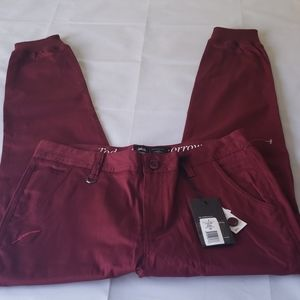 NWT - Men's Publish Legacy Pant in Maroon